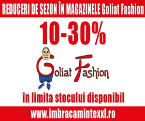 Reduceri in magazinele GOLIAT FASHION