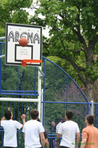Un basket in parc